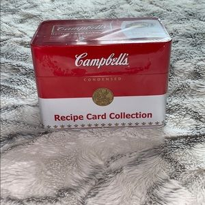 NWT: CAMPBELLS RECIPE CARD COLLECTION